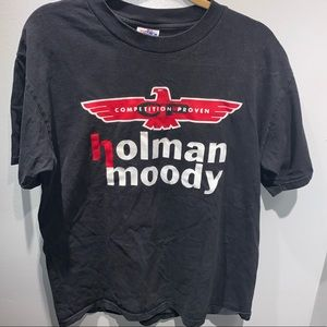 Vintage Holman Moody racing shirt large
